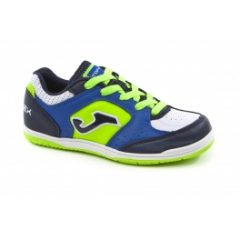 ZAPATILLA JOMA TOP FLEX JR 805 ROYAL-FLUOR INDOOR